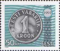 Стандарт, Эстонская монета, 1м; 50 Кр