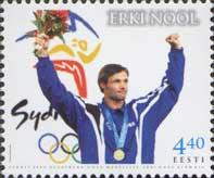 Эрки Ноол - победитель Олимпиады в Сиднее'2000, 1м; 4.40 Кр