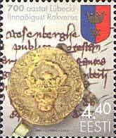 700 лет принятия Любекского трактата в Раквере, 1м; 4.40 Кр