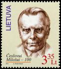 Нобелевский лауреат Ч.Милош, 1м; 3.35 Лита