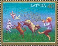 Латышские сказки, 1м; 40c
