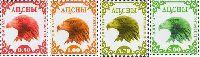 Стандарты, Орел, 1 выпуск, 4м; 0.5, 1.0, 3.70, 5.0 руб