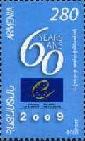 60-летие Европейского Союза, 1м; 280 Драм