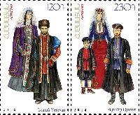 Национальные костюмы, 2м; 120, 230 Драм