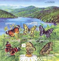 Фауна, Бабочки, M/Л из 6м; 1000 M x 6