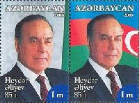 Памяти Президента Г.Алиева, 2м; 1.0 M x 2