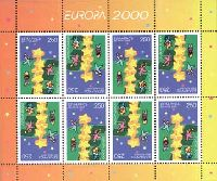 ЕВРОПА'2000, М/Л из 8м; 250 руб x 8