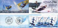 Водные виды спорта, буклет из 4м; 200, 1000 руб x 2