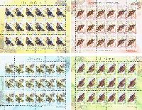 Фауна, Бабочки, 4 М/Л из 18 серий