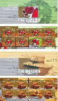 ЕВРОПА'05, 2 буклетa из 7 серий и купонa