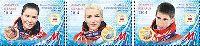 """Белорусские спортсмены - призеры Олимпиады в Сочи'14, 3м; """"М"""" х 3"""