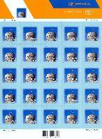 Стандарт, Национальный Флаг Эстонии, самоклейкa, М/Л из 25м; 5.0 Кр x 25