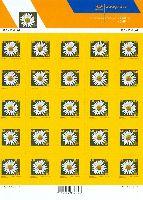 Стандарт, Цветок, самоклейка, М/Л из 25м; 0.30 Кр x 25