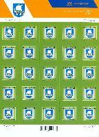 Стандарт, Герб региона Сааре, самоклейка, М/Л из 25м; 4.40 Кр x 25