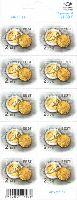 Стандарт, Монеты, самоклейка, М/Л из 10м; 2.10 Евро х 10
