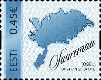 Собственная марка, остров Сааремаа, самоклейка, 1м; 0.45 Евро