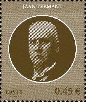 Государственный деятель Яан Теемант, 1м; 0.45 Евро