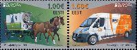 ЕВРОПА'13, 2м в сцепке; 1,0 Eвро x 2