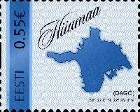 Собственная марка, остров Хийумаа, самоклейка, 1м; 0.55 Евро