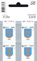 Стандарт, Герб города Элва, самоклейка, М/Л из 4м; 0.55 Евро x 4