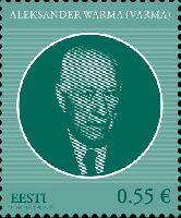 Государственный деятель Александр Варма, 1м; 0.55 Евро