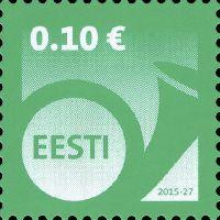 Стандарт, Почтовый рожок, самоклейка, 1м; 0.10 Евро