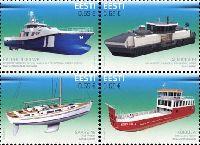 Инновации, Кораблестроение, 4м в квартблоке; 0.65 Евро х 4