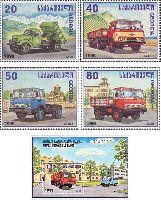 Кутаисский автозавод, 4м + блок; 20, 40, 50, 80, 100т