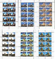 Памятники архитектуры под эгидой ЮНЕСКО, 6 М/Л  из 10 серий