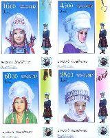 Национальные женские головные уборы, 4м беззубцовые; 16.0, 28.0, 45.0, 60.0 C