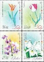 Флора, Тюльпаны и Орхидеи, 4м; 36, 39, 48, 55 С