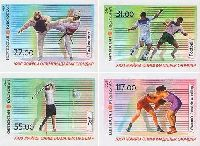 Олимпийские игры в Рио-де-Жанейро'16, 4м беззубцовые; 22, 31, 55, 117 С