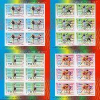 Олимпийские игры в Рио-де-Жанейро'16, беззубцовые 4 М/Л из 6 серий