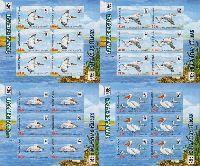 WWF, Пеликаны, беззубцовые 4 М/Л из 6 серий