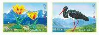 Флора и фауна Кыргызстана, 2м в сцепке беззубцовые; 39, 48 С