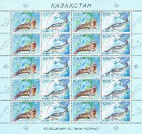 Совместный выпуск Казахстан-Украина, Фауна, M/Л из 10 серий