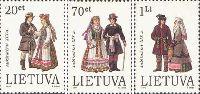Костюмы Верхней Литвы, 3м; 20, 70ц, 1 Лит