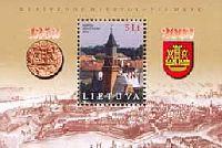 750-летие Клайпеды, блок; 5.0 Литов