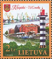 760 лет городу Клайпеда, 1м; 2.0 Лита