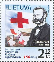Красный Крест, Анри Дюнан, 1м; 2.15 Лита