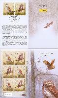 Красная книга, Птицы, буклет из 4 серий