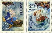 Рождество и Новый Год, 2м; 1.35, 2.80 Лита