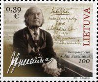 Композитор Юлюс Юзелюнас, 1м; 0.39 Евро