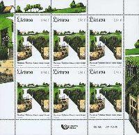 Канал замка короля Вильгельма, М/Л из 6м; 0.94 Евро х 6