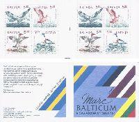 Mare Baltikum; Птицы, буклет из 2 серий