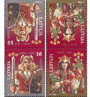 ЕВРОПА'95, тет-беш, 4м; 16, 50c x 2