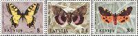Фауна, Бабочки, 3м; 8, 24, 80с