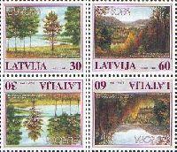 ЕВРОПА'99, Национальные парки, тет-беш, 4м; 30, 60с x 2