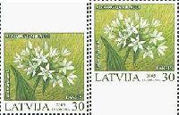 Охраняемые растения, трехсторонняя зубцовка, 2м; 30c x 2