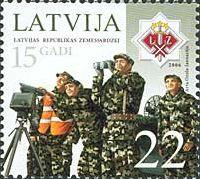 Добровольческий корпус Латвии, 1м; 22c